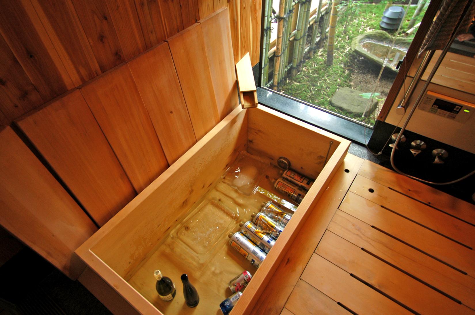 自宅木風呂の『外科手術』その2